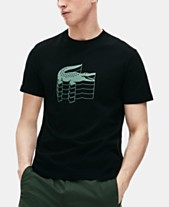 114f2544f3a Lacoste Men s Stacked Logo Graphic T-Shirt