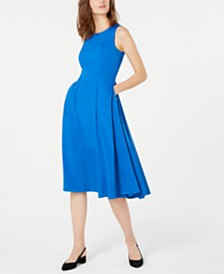 Alfani Petite A-Line Midi Dress, Created for Macy's