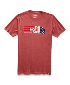 The North Face Men's Heather Logo Graphic Slim Fit T-Shirt
