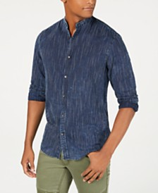 I.N.C. Men's Banded Shirt, Created for Macy's