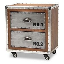 Avere 2-Drawer Nightstand