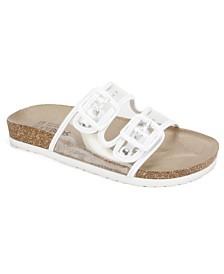 White Mountain Hilda Flat Sandals