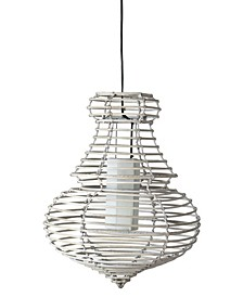 Danae Rattan Pendant Light