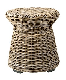 Akiman Rattan Accent Table