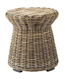 East At Main's Akiman Rattan Accent Table