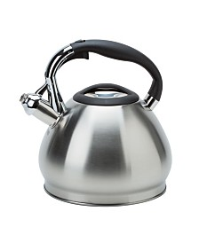 Kitchen Details 10 Cup Stainless Steel Tea Kettle