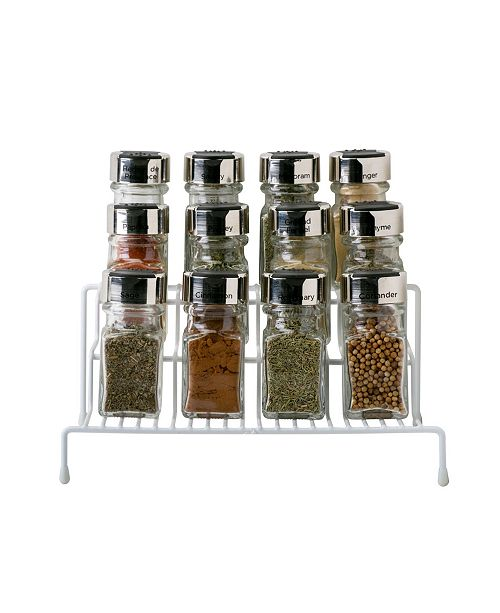 Kitchen Details 3 Tier Spice Rack Shelf Organizer