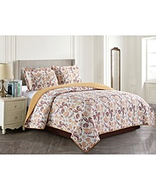 Shell 3 Piece Quilt Set