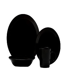 Red Vanilla Terrastone 16-piece Dinner Set