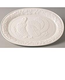 """Wild Turkey Platter 17.75"""""""