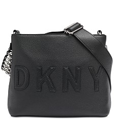 DKNY Irvington Leather Bucket Bag, Created for Macy's