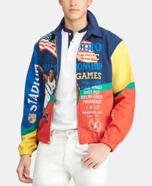 333974c2 Polo Ralph Lauren Men's Chariots Bayport Graphic Windbreaker In Stadium  Poster