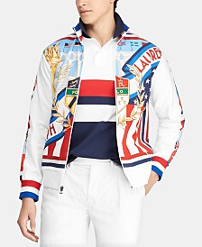 Polo Ralph Lauren Men's Graphic Chariots Track Jacket