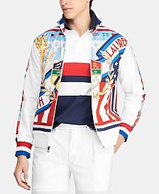 Polo Ralph Lauren Men's Graphic Chariots Track Jacket