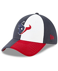 New Era Little Boys Houston Texans Draft 39THIRTY Stretch Fitted Cap