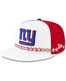 New Era Little Boys New York Giants Draft 9FIFTY Snapback Cap