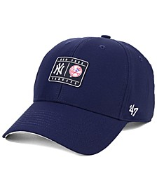New York Yankees Silicone Patch MVP Adjustable Cap
