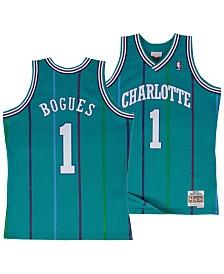 Mitchell & Ness Big Boys Muggsy Bogues Charlotte Hornets Hardwood Classic Swingman Jersey