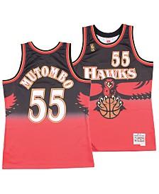 Mitchell & Ness Big Boys Dikembe Mutombo Atlanta Hawks Hardwood Classic Swingman Jersey