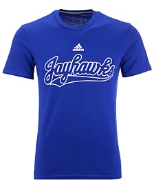adidas Men's Kansas Jayhawks Performance T-Shirt