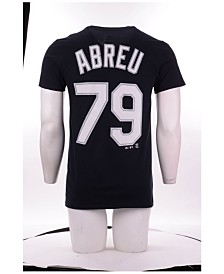 Majestic Men's Jose Abreu Chicago White Sox Official Player T-Shirt