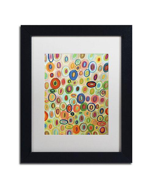"Trademark Global Sylvie Demers 'Permanence' Matted Framed Art - 11"" x 14"" x 0.5"""