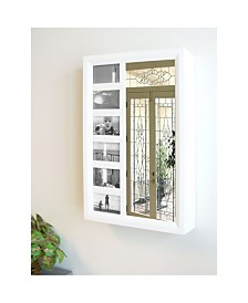 Proman Products Belissimo Collection Venice Wall Mount Jewelry Armoire