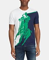 9dc59d13 Polo Ralph Lauren Men's Active Fit Big Pony Graphic T-Shirt