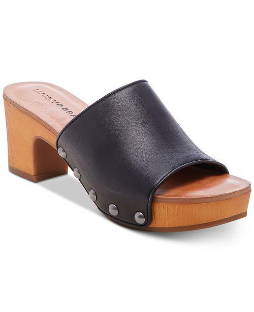 Lucky Brand Women's Fineena High-Heel Wedge Sandals
