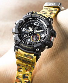 LIMITED EDITION  Men's Wildlife Promising Animal Print Resin Strap Watch 55.3mm, Created for Macy's