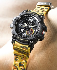 LIMITED EDITION  G-Shock Men's Wildlife Promising Animal Print Resin Strap Watch 55.3mm, Created For Macy's