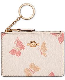 COACH Butterfly Skinny ID Wallet