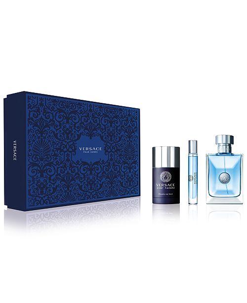 Versace Versace Pour Homme Eau de Toilette 3-Pc Gift Set