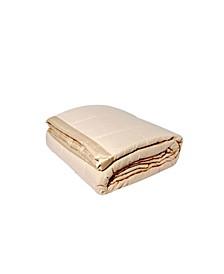 Solid Colored Microfiber Down Alternative Full/Queen Blanket