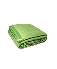 Solid Colored Microfiber Down Alternative Twin Blanket