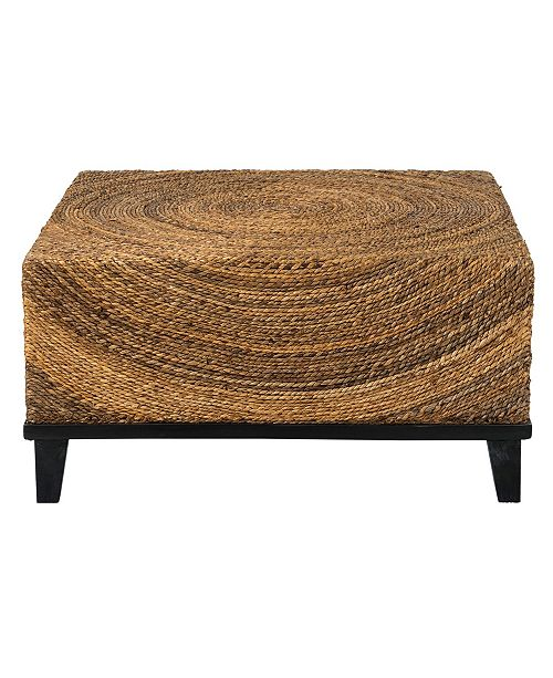 East At Main Chickasaw Abaca Coffee Table
