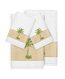 Turkish Cotton Colton 4-Pc. Embellished Towel Set