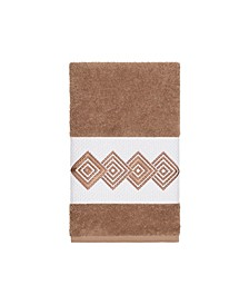 Turkish Cotton Noah Embellished Hand Towel