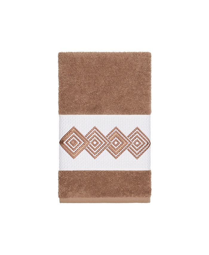Linum Home - Turkish Cotton Noah Embellished Hand Towel