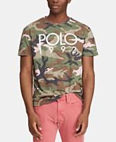 3f4b471284f Polo Ralph Lauren Men s Custom Slim Fit Graphic Cotton T-Shirt