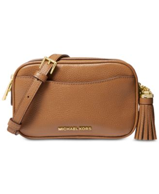 Pebble Leather Convertible Crossbody Belt Bag