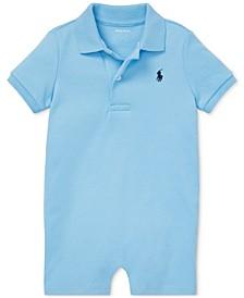 Ralph Lauren Baby Boys Cotton Interlock Polo Shortall