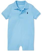 0afe30613 Polo Ralph Lauren Baby Boys Cotton Interlock Polo Shortall