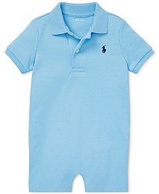 Polo Ralph Lauren Baby Boys Cotton Interlock Polo Shortall