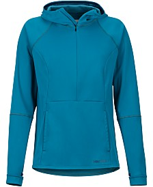 Marmot Women's  Zenyatta Hooded Water-Repellent Active Rain Jacket