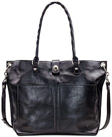 Patricia Nash Heritage Marseille Leather Tote
