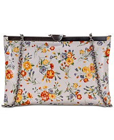 Patricia Nash Mini Meadows Asher Leather Clutch