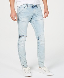 Men's Faded Skinny Jeans