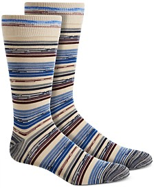 Perry Ellis Men's Space-Dyed Socks