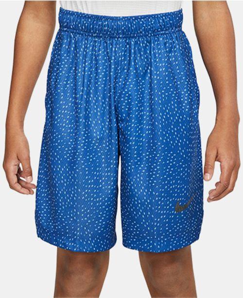 Nike Big Boys Dri-FIT Printed Training Shorts